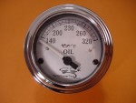V-Temp - Oil Temp Gauge for Harley Davidson FLH for 1998 to 2013 models